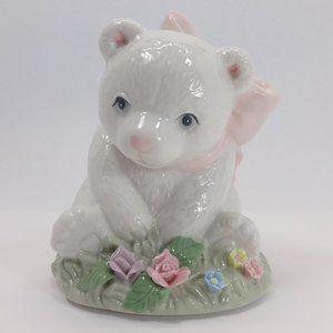 HERITAGE HOUSE Fine Porcelain Musical Bear